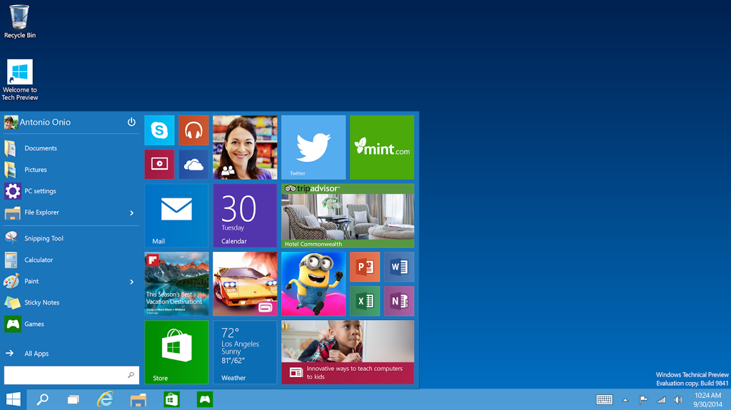 Windows 10 Technical Preview ISO Direct Download Links 3