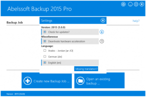 Abelssoft Backup Pro 2015 5.0.0 Pre-Activated is Here! [Latest] 2