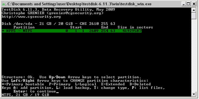 TestDisk-BestFreeDataRecoveryTools