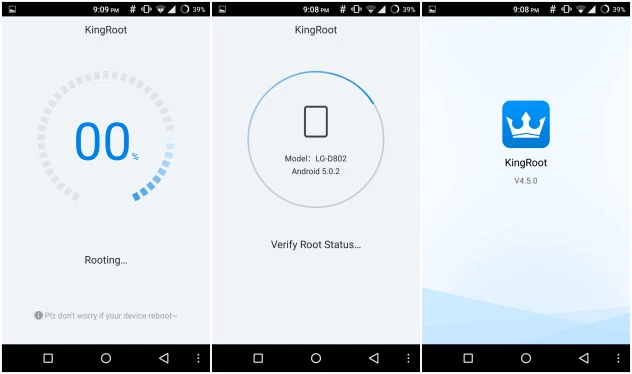 Kingroot v4.9.4 build 147 (One Click Root) APK is Here ! 1